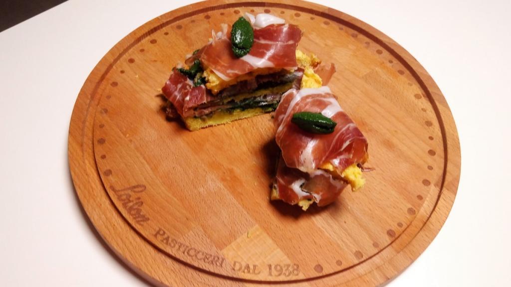 Panettone Club Sandwich