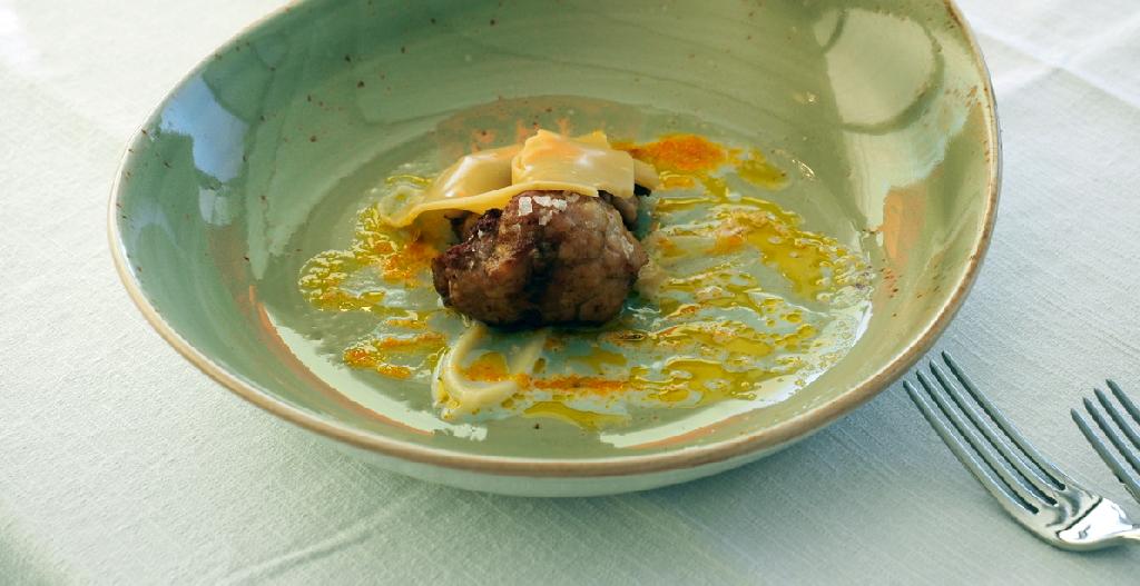 Andrea Rossetti - Animelle e velo di Panettone  al Mandarino