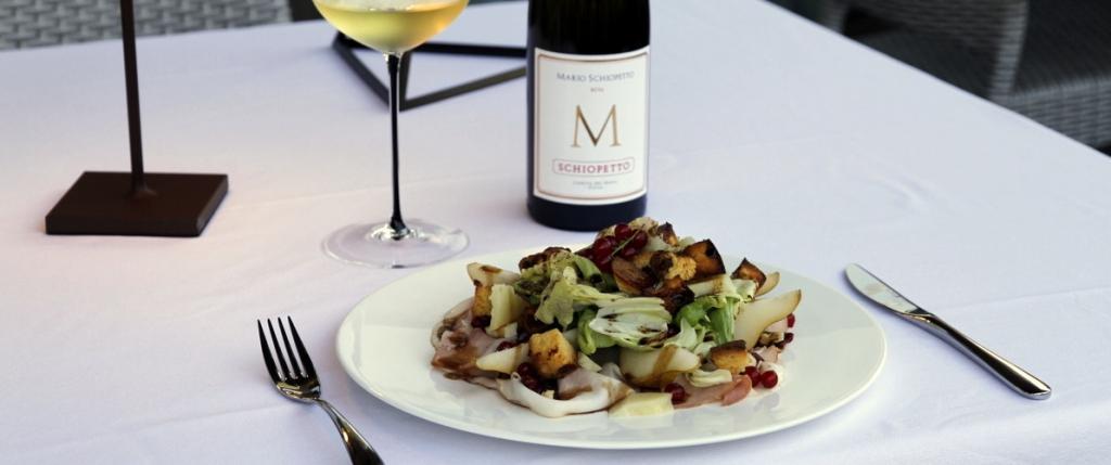 Stefano Agostini - Loison Salad with Classic Veneziana