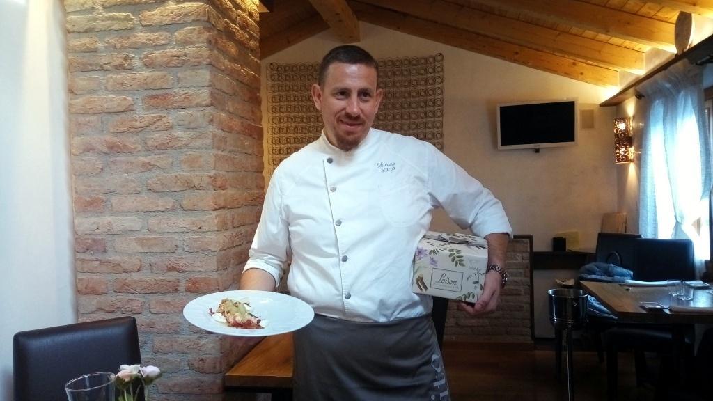 MARTINO SCARPA - Chef at restaurant Ai Do Campanili (in Cavallino Treporti, Venice)