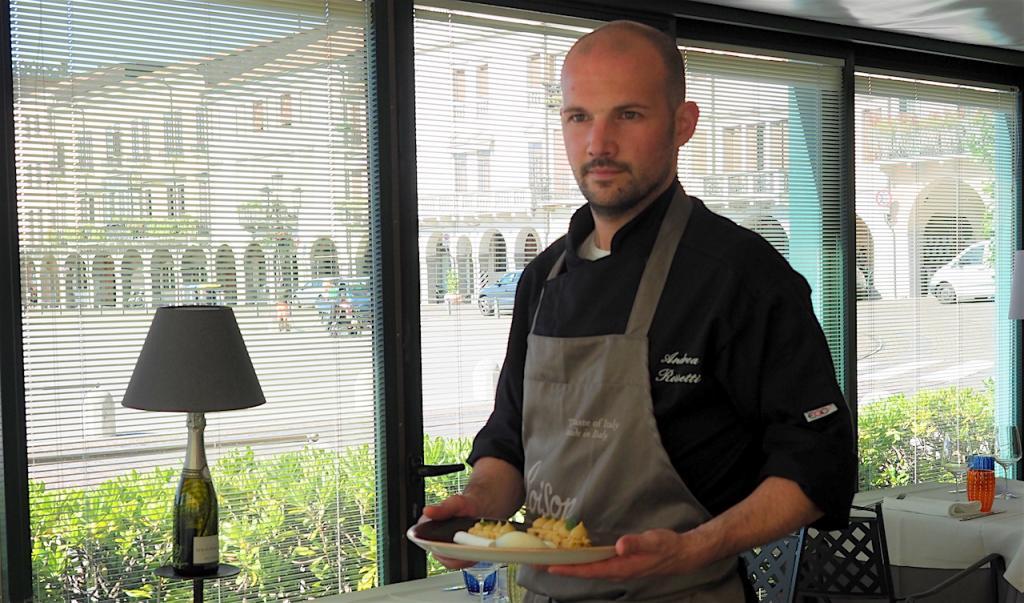 Andrea Rossetti - Chef Ristorante  Fuel Ristorante in Prato (Padova)
