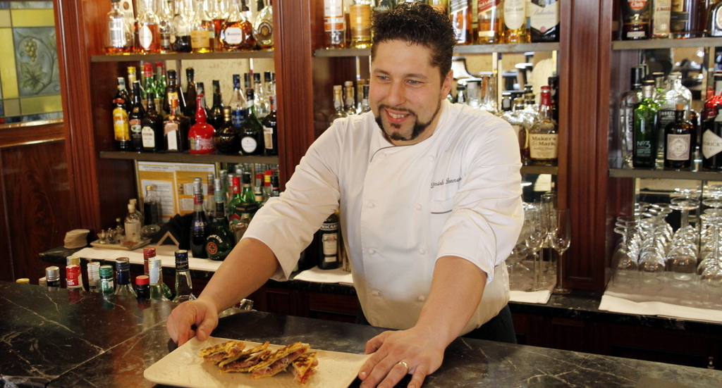 DANIELE ZENNARO - Chef Ristorante Canova – Baglioni Hotel Luna -Venezia