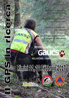 the GPS in search and rescue workshop using the Gaucs method